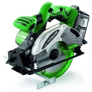 Hitachi C18DL cordless circular saw incl. case + 2 Batteries 3.0Ah