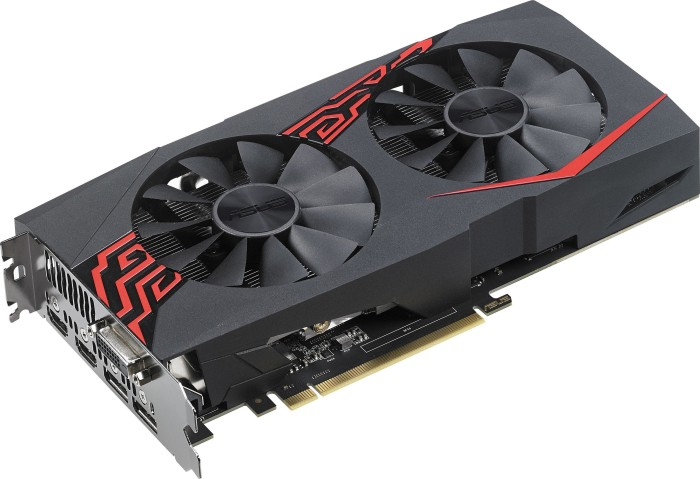 ASUS Expedition GeForce GTX 1060 OC, EX-GTX1060-O6G, 6GB GDDR5, DVI, 2x HDMI, 2x DP (90YV0A28-M0NA00)
