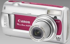 Canon PowerShot A470 rot (2507B013)