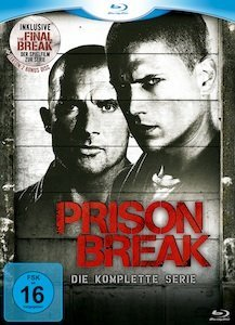 Prison Break Box (Season 1-4) (Blu-ray)