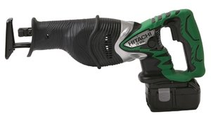 Hitachi CR18DL cordless reciprocating saw incl. case + 2 Batteries 3.0Ah