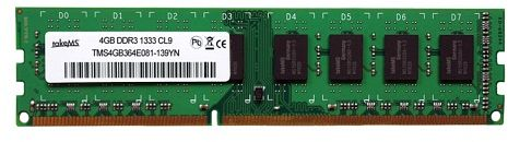 takeMS DIMM   8GB, DDR3-1333, CL9 (TMS8GB364F081-139)