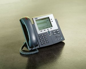 Cisco 7940G Unified IP Phone inkl. Call Manager Lizenz (CP-7940G-CH1)