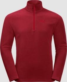 Jack Wolfskin Zero Waste Rebel Shirt langarm dark lacquer red (Herren) (1707491-2027)