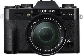 Fujifilm X-T20 schwarz mit Objektiv XC 16-50mm OIS II und XC 50-230mm OIS II (16543339)