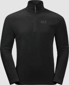 Jack Wolfskin Zero Waste Rebel Shirt langarm schwarz (Herren) (1707491-6000)