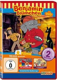 Benjamin Blümchen - Zirkuslöwen, Tempelkatze (DVD)