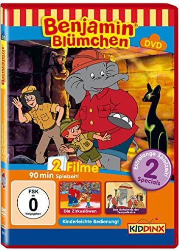 Benjamin Blümchen - Zirkuslöwen, Tempelkatze -- via Amazon Partnerprogramm