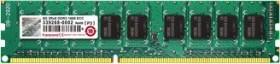Transcend DIMM 8GB, DDR3L-1600, CL11-11-11, ECC (TS1GLK72W6H)