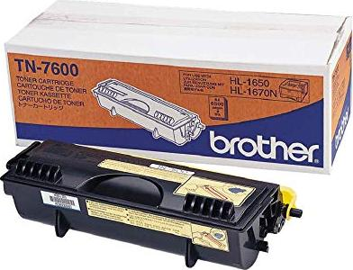 Brother Toner TN-7600 black -- via Amazon Partnerprogramm
