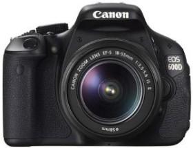 Canon EOS 600D schwarz mit Objektiv EF-S 18-55mm IS II und EF-S 55-250mm IS (5170B038)
