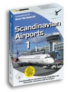 Flight Simulator 2004 - Scandinavian Airports 1 (Add-on) (niemiecki) (PC)