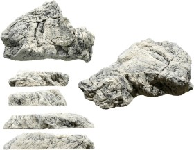 Back to Nature Aquarium Modul White Limestone L (03000071)