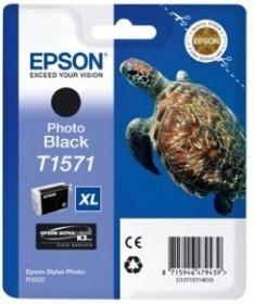 Epson Tinte T1571 schwarz photo (C13T157140)