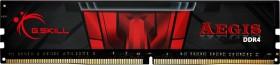 G.Skill Aegis DIMM 4GB, DDR4-2400, CL17-17-17-39 (F4-2400C17S-4GIS)