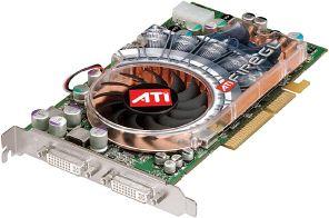 ATI FireGL X2-256T, Radeon 9800 XT, 256MB DDR2, 2x DVI, AGP (100-505076)