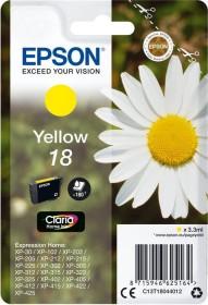 Epson Tinte 18 gelb (C13T18044010)