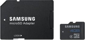 Samsung R24 microSDHC Standard 4GB Kit, Class 4 (MB-MS4GBA/EU)