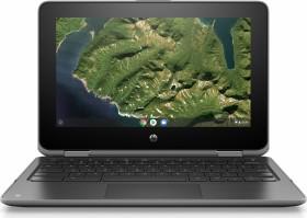 HP Chromebook x360 11 G2 schwarz, Celeron N4000, 8GB RAM, 64GB Flash (6MR40EA#ABD)
