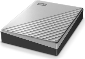 Western Digital WD My Passport Ultra 2018 silber 4TB, USB-C 3.0 (WDBFTM0040BSL)