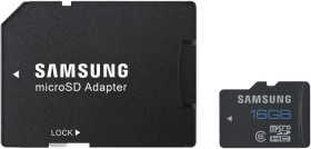 Samsung R24 microSDHC Standard 16GB Kit, Class 6 (MB-MSAGBA/EU)