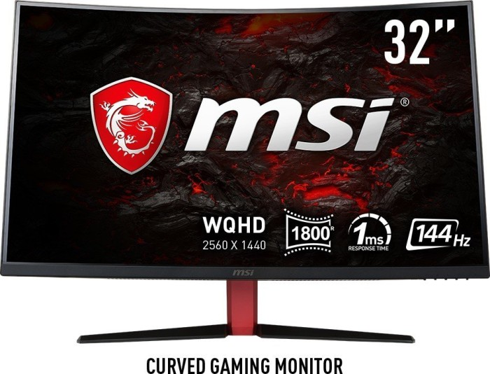 """MSI Optix AG32CQ, two years warranty, 31.5"""" (S15-0008010-HH5/S15-0008021-HH5)"""