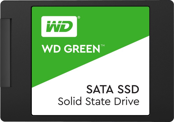 Western Digital WD Green SATA SSD 480GB, SATA (WDS480G2G0A)