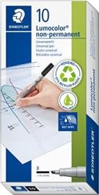 Staedtler Lumocolor 310 CD/DVD Marker permanent blau, Blister (310-3CDBK)