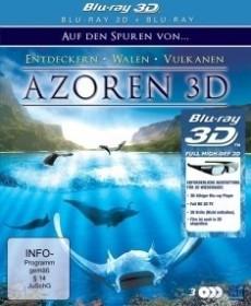 Azoren - Auf den Spuren von Entdeckern, Walen und Vulkanen (3D) (Blu-ray)