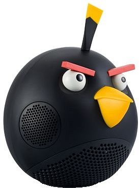 Gear4 Angry Birds Speaker Black Bird black (PG552G)