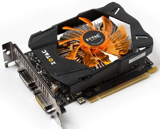 Zotac GeForce GTX 750 Ti, 1GB GDDR5, 2x DVI, Mini HDMI (ZT-70603-10M)