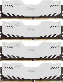 TeamGroup Dark weiß DIMM Kit 16GB, DDR4-3000, CL16-16-16-36 (TDWED416G3000HC16AQC01)