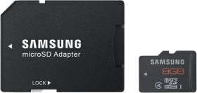 Samsung Plus R48 microSDHC 8GB Kit, UHS-I, Class 10/Class 4 (MB-MP8GBA/EU)