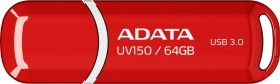 ADATA DashDrive UV150 rot 64GB, USB-A 3.0 (AUV150-64G-RRD)