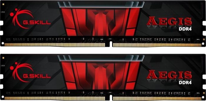 G.Skill Aegis DIMM Kit 8GB, DDR4-2400, CL17-17-17-39 (F4-2400C17D-8GIS)