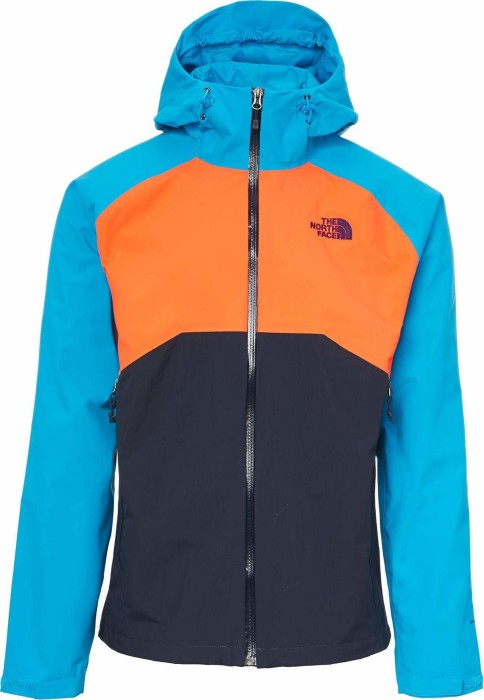 f2662f207 The North Face Stratos HyVent Jacket urban navy/perisan orange/hyper blue  (men) (CMH9-6WC)