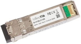 MikroTik RouterBOARD S+31 10G LAN-transceiver, LC-Duplex SM 10km, SFP+ (S+31DLC10D)