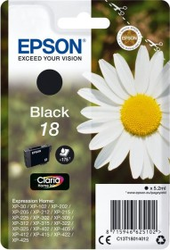 Epson Tinte 18 schwarz (C13T18014010)