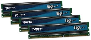 Patriot extreme Performance Gamer 2 Series DIMM kit 16GB, DDR3-1866, CL9-11-9-27 (PGQ316G1866ELQK)
