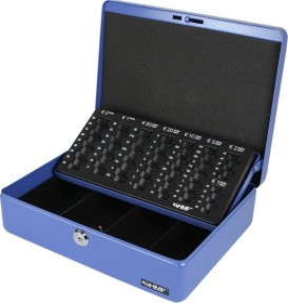 HMF 10015 Geldkassette blau (10015-05)