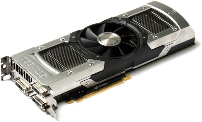 Zotac GeForce GTX 690, 2x 2GB GDDR5, 3x DVI, mini DisplayPort (ZT-60701-10P)