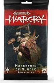 Games Workshop Warhammer Age of Sigmar Warcry - Karten der Rotbringers der Maggotkin of Nurgle (99220201015)