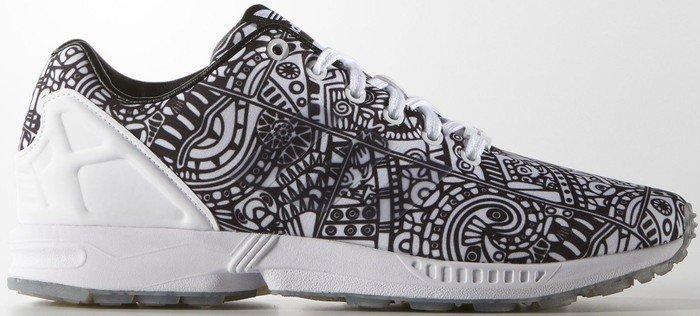 adidas ZX Flux, Unisex Erwachsene Sneakers, Core Black