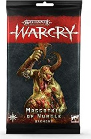 Games Workshop Warhammer Age of Sigmar Warcry - Karten der Daemons der Maggotkin of Nurgle (99220201016)