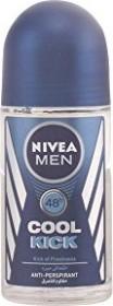 Nivea For Men Cool Kick Deodorant Roll-On, 50ml
