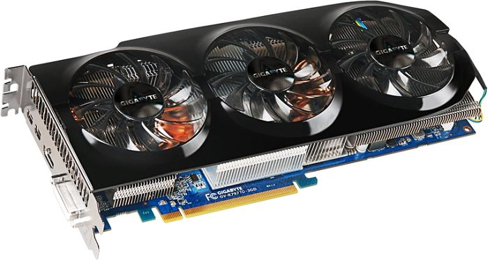 Gigabyte Radeon HD 7970 GHz Edition, 3GB GDDR5, DVI, HDMI, 2x Mini DisplayPort (GV-R797TO-3GD)