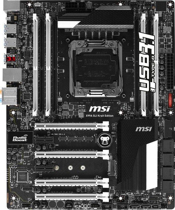 X99a sli krait edition | motherboard the world leader in.