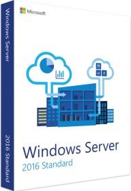 Microsoft Windows Server 2016 64Bit Standard OEM/DSP/SB, 16 Cores, ESD (deutsch) (PC)
