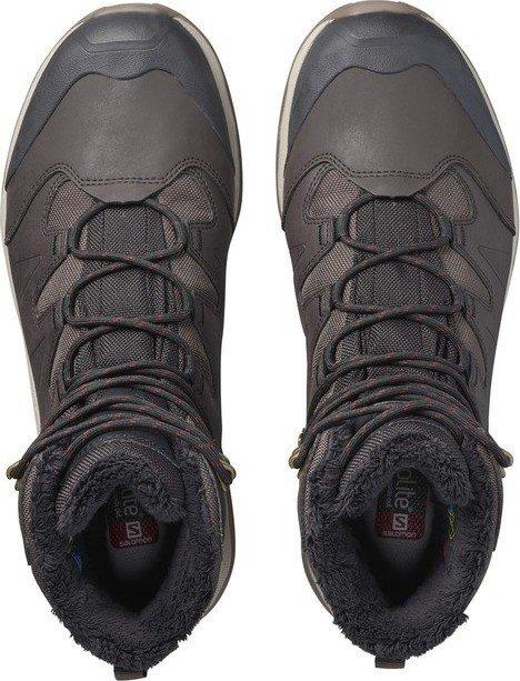 5e8293255e4acc Salomon Quest Winter GTX black coffee black red dahlia (Herren) (399723)