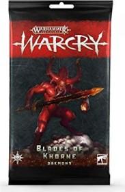 Games Workshop Warhammer Age of Sigmar Warcry - Karten der Daemons der Blades of Khorne (99220201014)